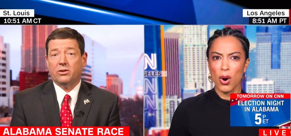CNN panel appalled after Roy Moore backer dismisses past racist remarks: 'Slavery is not being voted on'