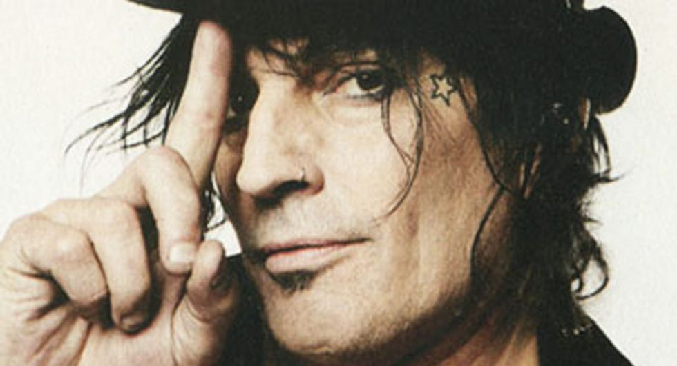 Mötley Crüe rocker Tommy Lee bashes 'f*cking' Trump and his 'd*ckhead' supporters