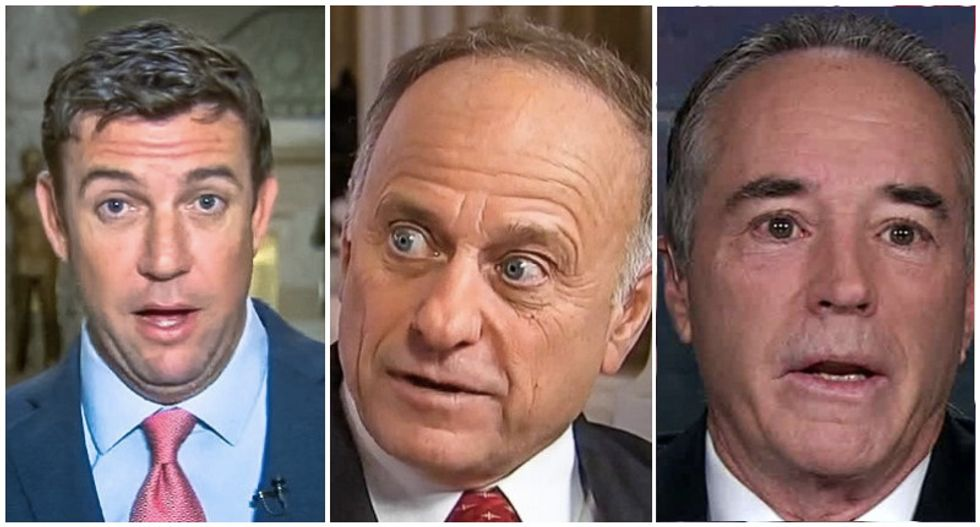 Three shunned Republicans make a 'pariah caucus' -- but they're leaving their districts without much of a Congressman