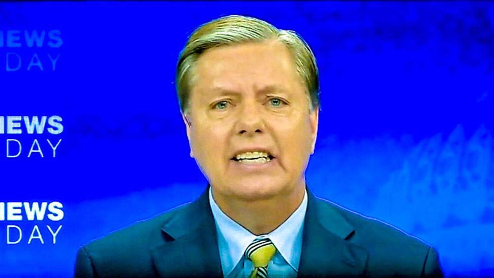 Trump's week was so bad even 'faithful lapdog' Lindsey Graham turned on him: conservative columnist