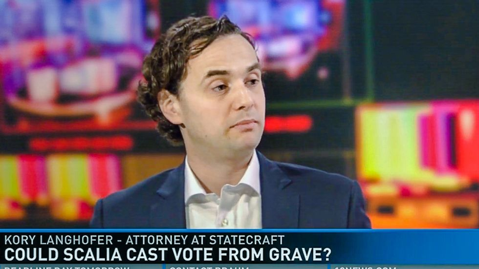 WTF: Arizona lawyer says Scalia can vote 'from the grave' to keep Supreme Court conservative