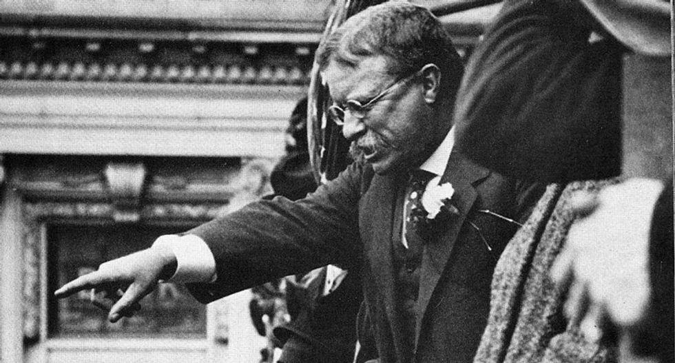 Was Donald Trump like Teddy Roosevelt?