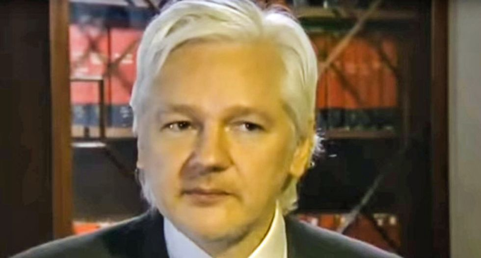 Prosecutors decided to revisit Assange as part of Trump's war on the media: report