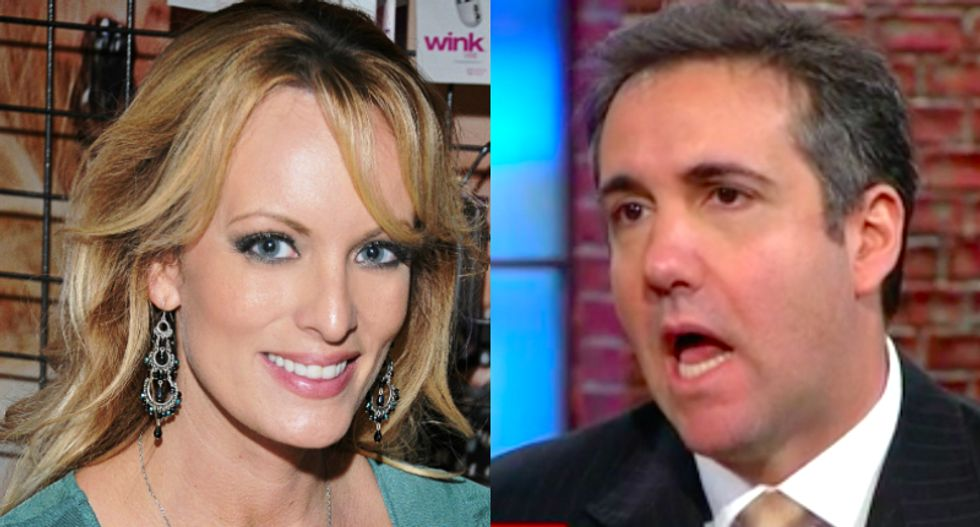 Stormy Daniels is cooperating with the feds in their Michael Cohen investigation