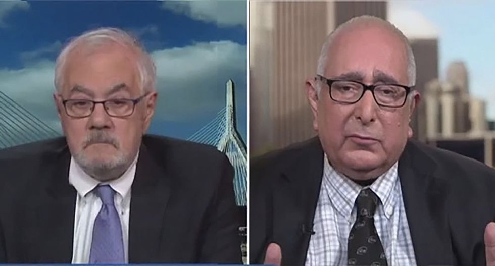 Conservative Ben Stein gets lunch eaten by Barney Frank for calling Trump's economy 'magic'