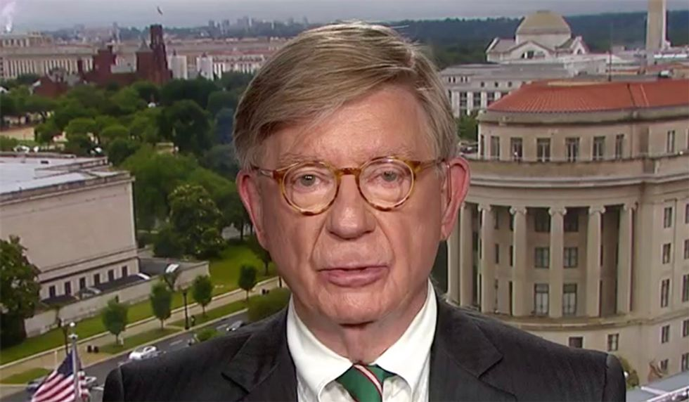 George Will predicts gutless GOP will remain silent over Trump invitation for more foreign meddling: 'Don't hold your breath'
