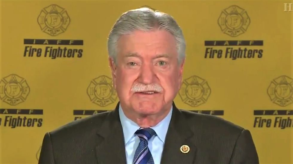 Fire fighters union boss taunts Trump over his meltdown about Biden endorsement: 'We have not lost any members'