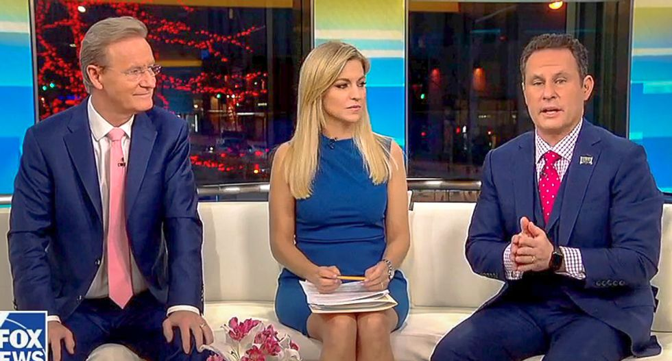 Fox & Friends host drops hint to Trump that bombing Syria would be 'a bigger story than Comey's book'