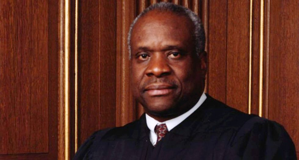 Clarence Thomas finally ends 10 years of self-imposed silence at Supreme Court