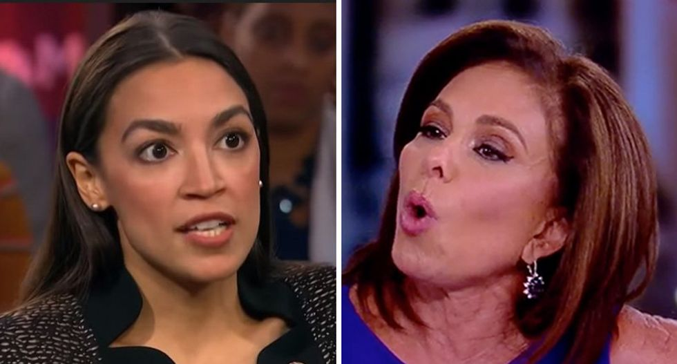 Rep AOC slams Jeanine Pirro after racist death threat against Democratic Rep Ilhan Omar