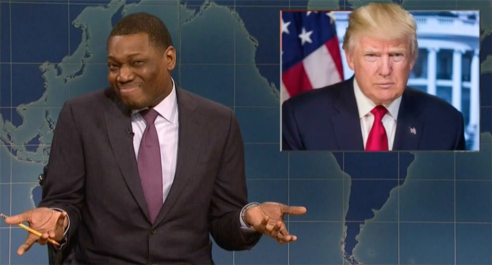 'Weekend Update' asks the FBI to plant evidence on Trump: 'Turn off your body cam and put some crack in his shoes'