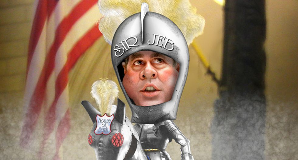 Jeb Bush to roll out 'Bush Doctrine II: Electric Clusterf*ck' to a sadder but not wiser nation