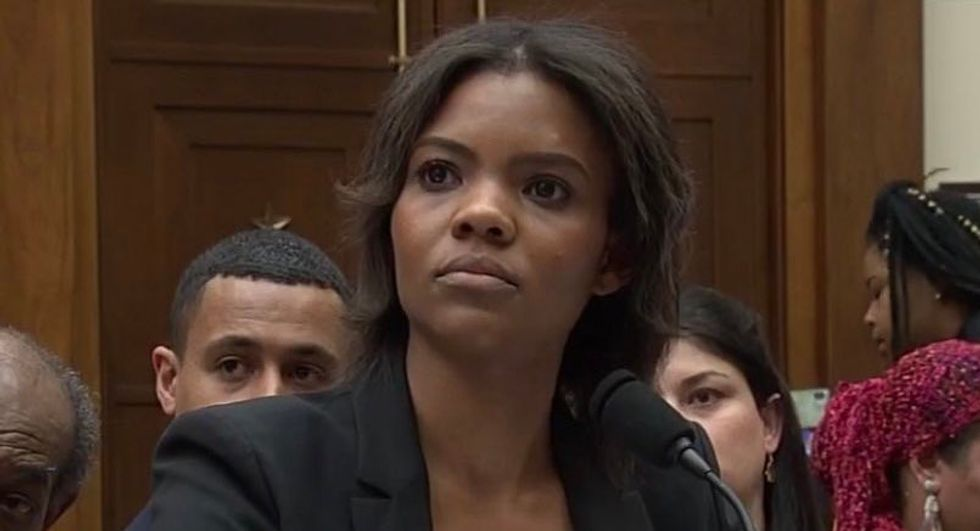 Candace Owens jeered after Ted Leiu played her 'Hitler' thoughts in Congress: 'Stupid and amoral'
