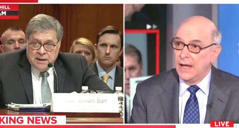 'Cover-up': Former Watergate prosecutor says it's obvious that Barr told Trump what's in the Muller report