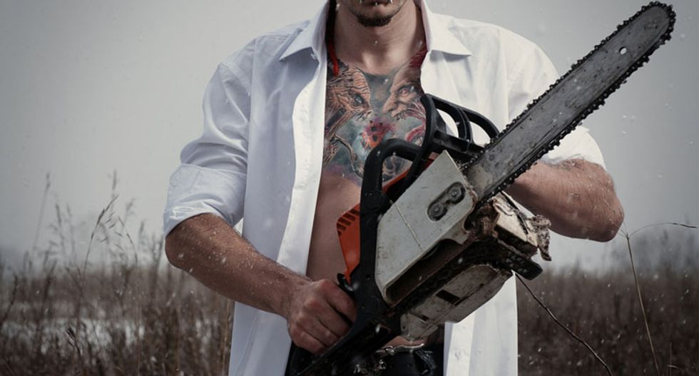 Bowie knives and chainsaws: A look at how survivalists are preparing for doomsday