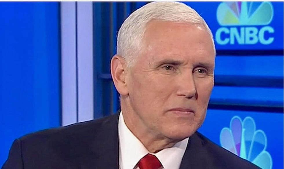 'Creepy' Mike Pence has been 'obsessed' with LGBTQ people since he entered politics: HRC president