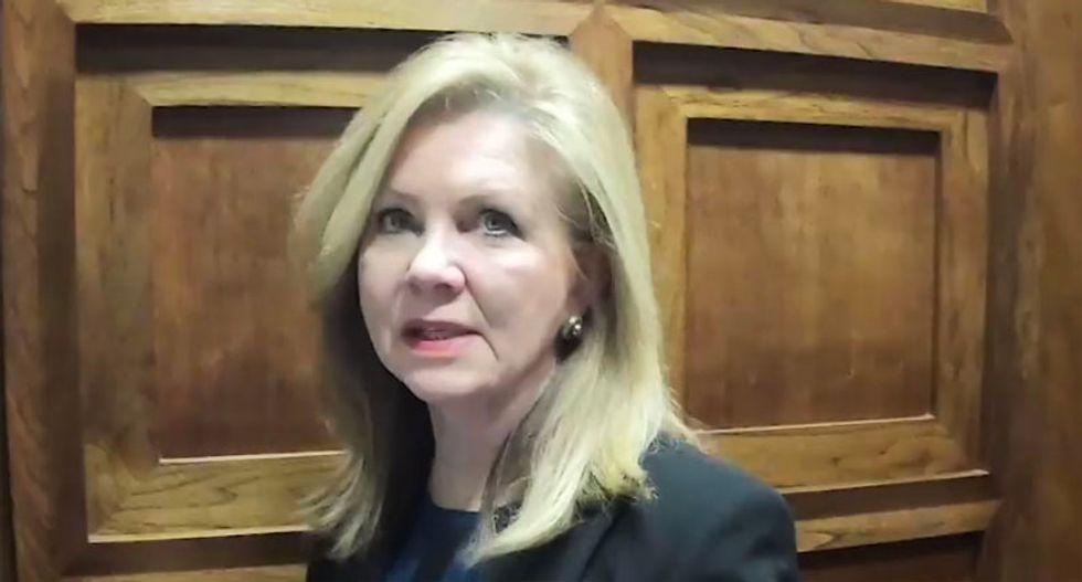 Why Marsha Blackburn fell on a grenade for Donald Trump