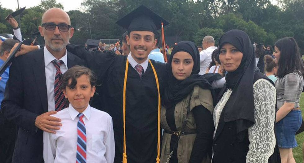 Bank has entire Arab-American family arrested after father tries to deposit large check from home sale