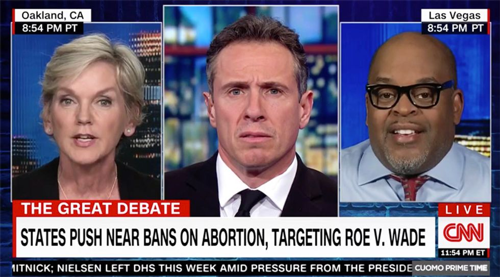 CNN's Cuomo stops conservative guest's anti-abortion rant cold in its tracks with abrupt and blunt 'Bullsh*t'