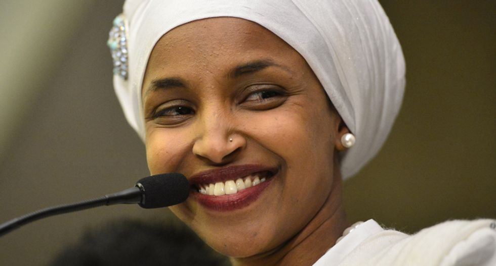 Ilhan Omar responds to Tucker Carlson's xenophobic tirade: 'Kinda fun watching a racist fool weeping about my presence in Congress'
