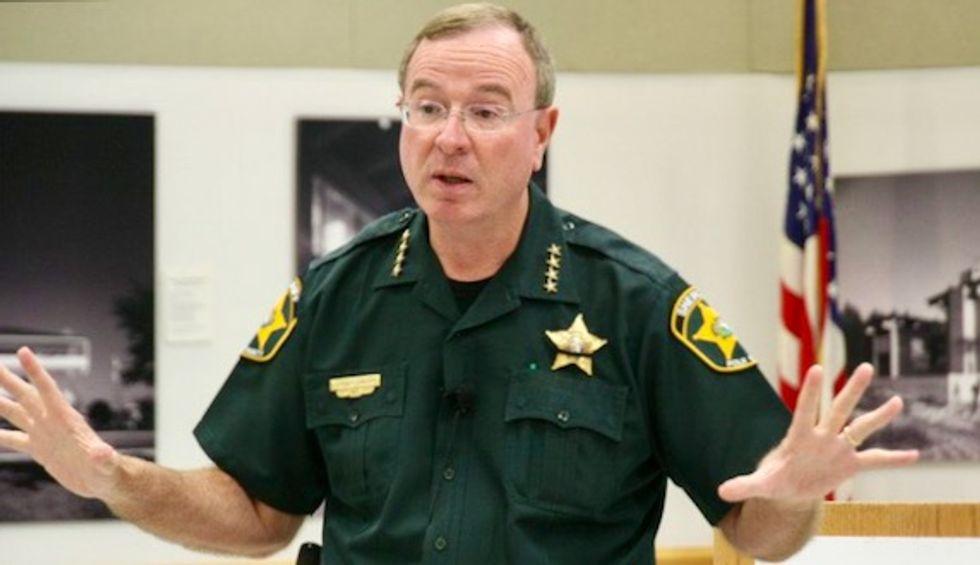 Florida sheriff on arming teachers: 'OK, Einstein, you got a better idea?'