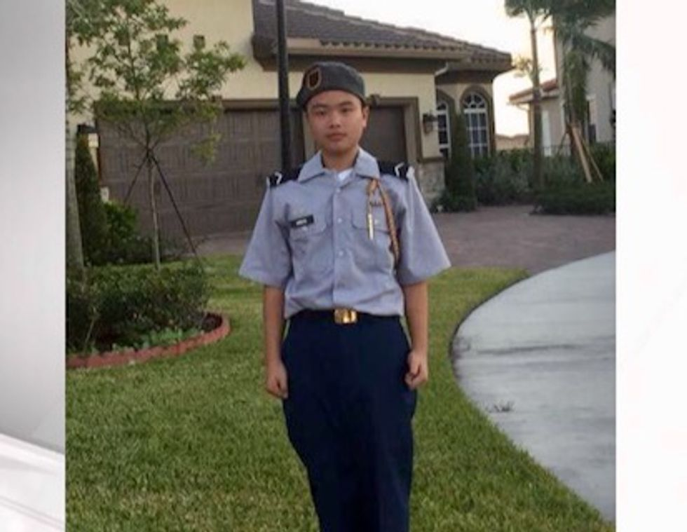 West Point posthumously admits Florida shooting victim Peter Wang to Class of 2025