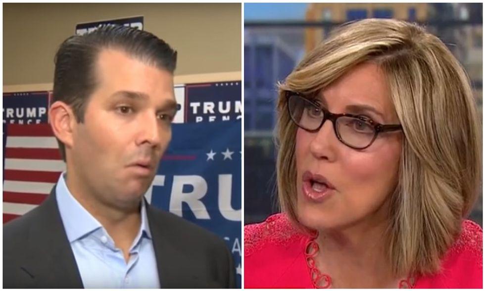 'How gullible is he?' CNN panel mocks Don Trump Jr's 'brainpower' after he falls for Parkland conspiracies