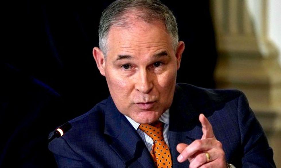 House Republican oversight chair seeks EPA chief Scott Pruitt's  travel details