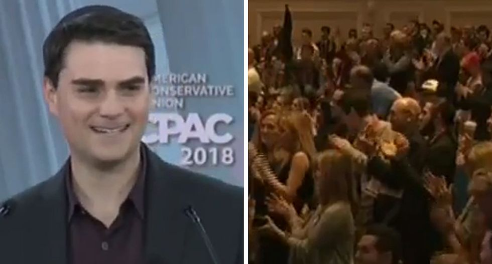 WATCH: CPAC attendees revive 'lock her up' chant after conservative Ben Shapiro invokes Hillary Clinton