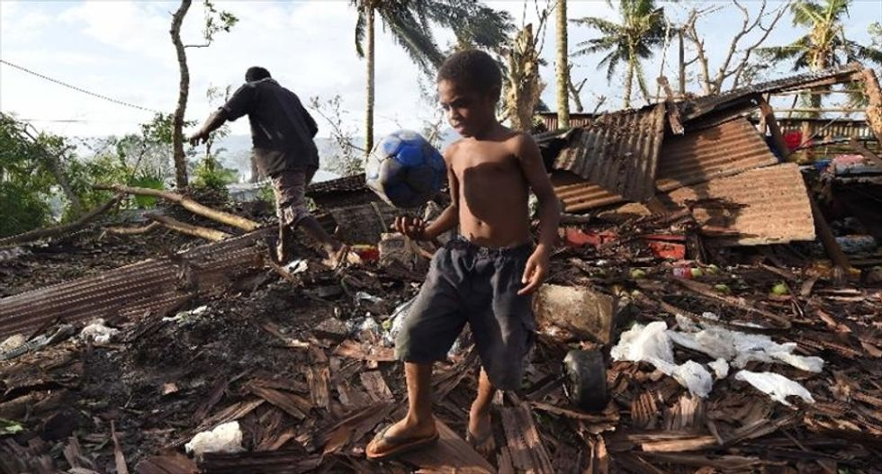 Massive cyclone damage spurs fears of food shortages in island nation of Vanuatu