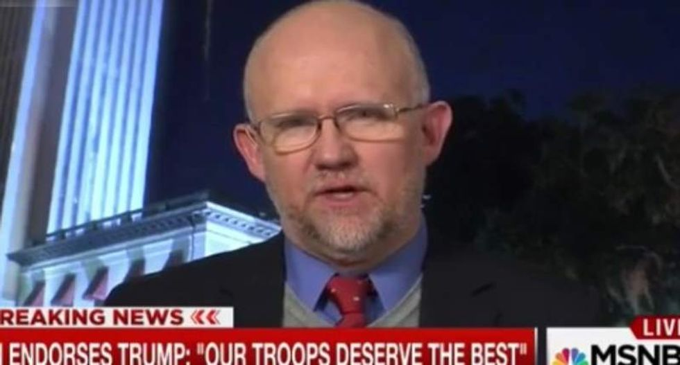 Conservative Rick Wilson begs GOP to get off the 'mindless, soulless Trump Cult Train' after Comey firing