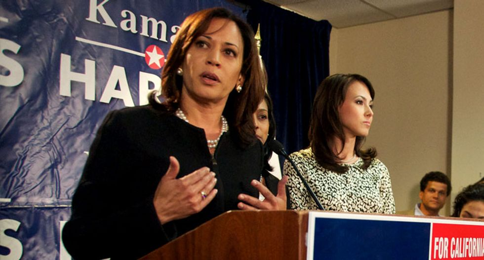 CA Attorney General Kamala Harris' aide busted over '3,000-year-old' Knights Templar police force