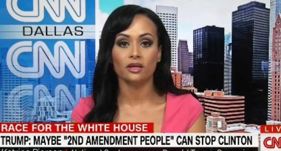 Trump spokeswoman Katrina Pierson blames earpiece after accusing Obama of invading Afghanistan
