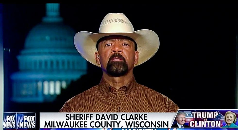 'They've cut people loose before': Sheriff Clarke says he may have already lost DHS job over plagiarism