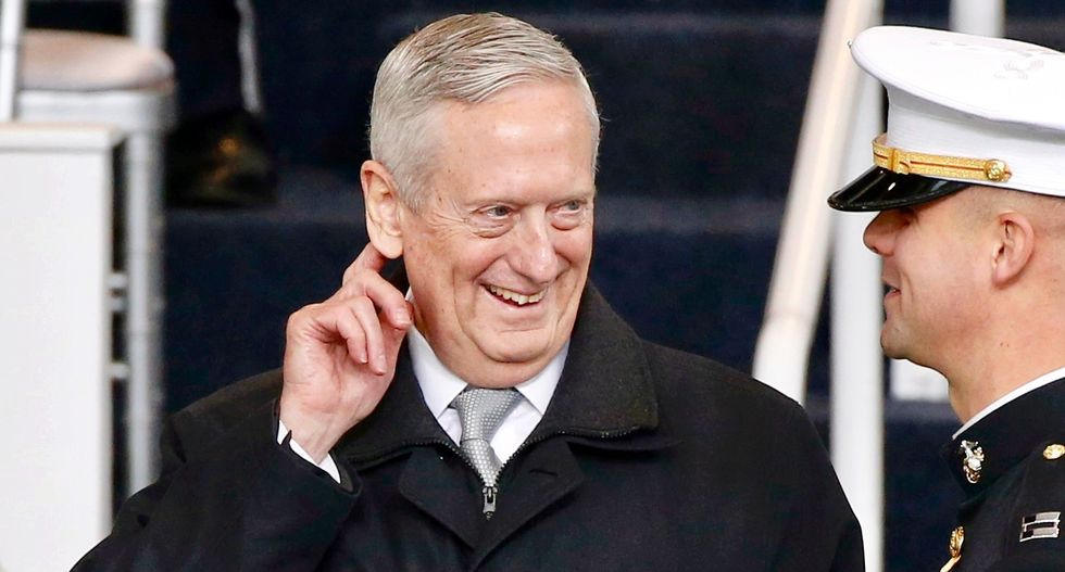 James Mattis finally fires back at Trump in a surprisingly funny charity speech