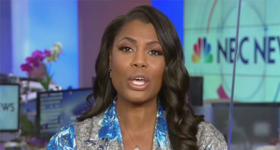 Omarosa claims White House destroyed 5 boxes of documents — that should have been turned over to Mueller