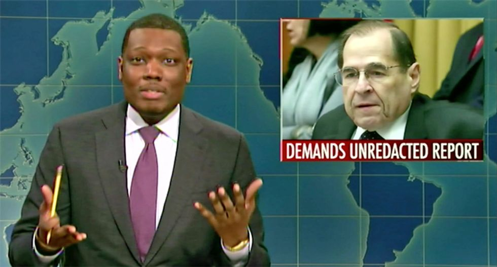 SNL has the perfect suggestion for Democrats to get ahold of the unredacted Mueller report
