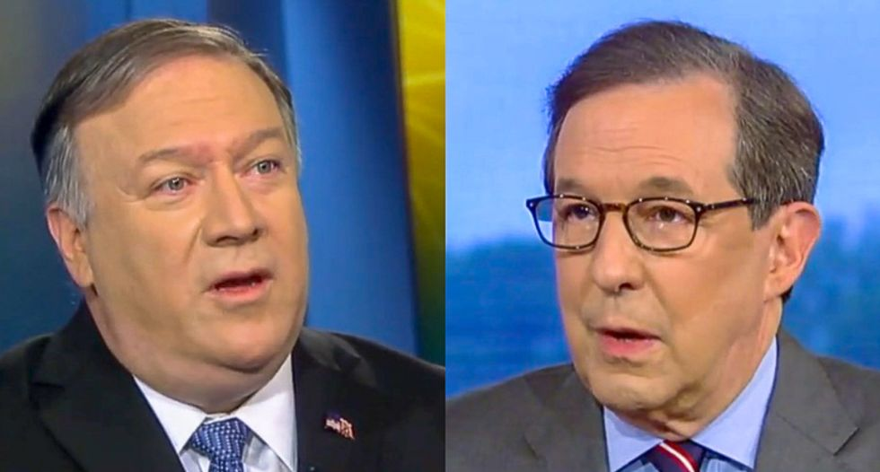'I'm confused': Chris Wallace sends Mike Pompeo down in flames over Trump's failure to confront Putin