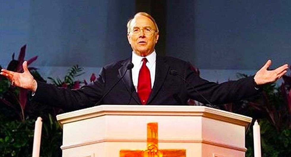 Evangelist James Dobson laments the lack of transgender shooting victims in unhinged anti-Obama rant