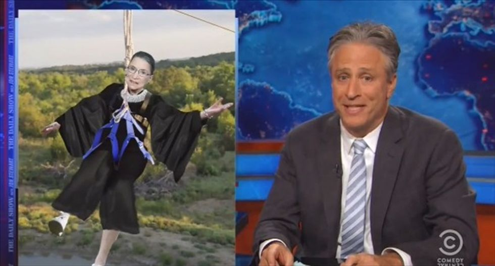 Jon Stewart schools Justices Roberts and Alito: 'Marriage has almost never not been changing'