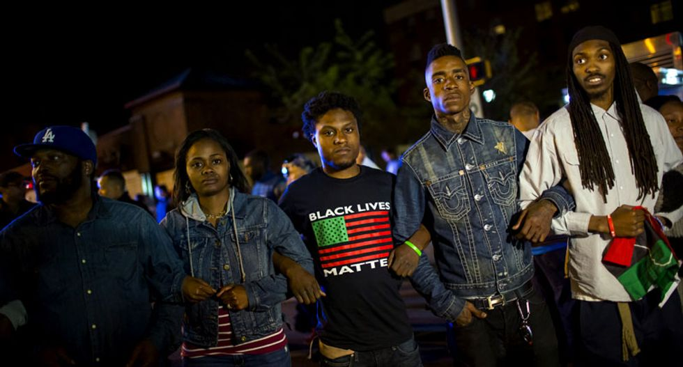 Protesters ready for May Day march over black man's death in Baltimore