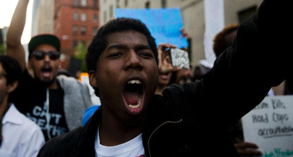 Baltimore celebrates after police charged in death of Freddie Gray