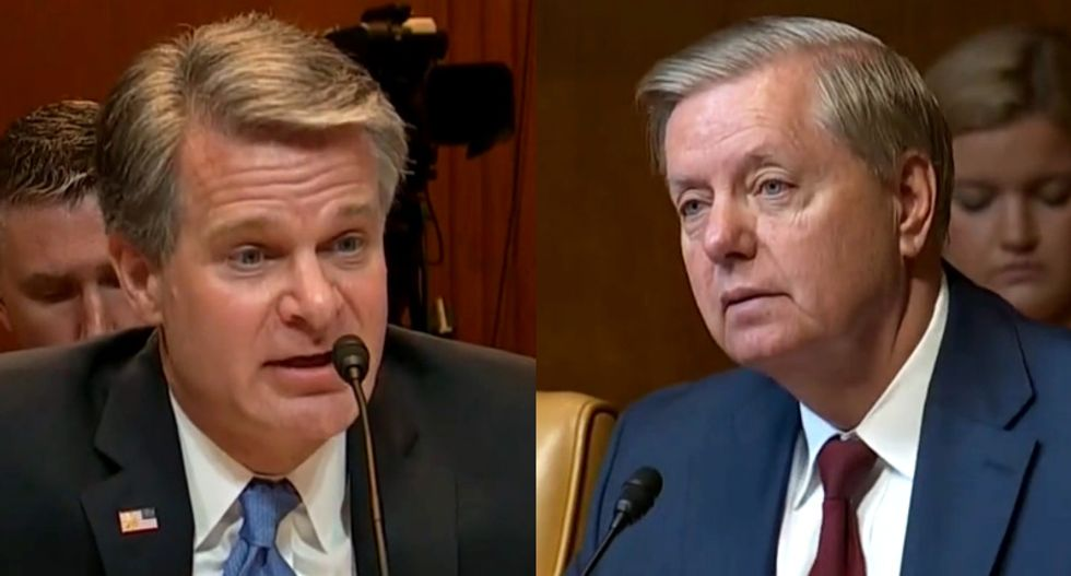FBI chief warns Lindsey Graham: Russia hasn't gotten the message not to meddle in 2020