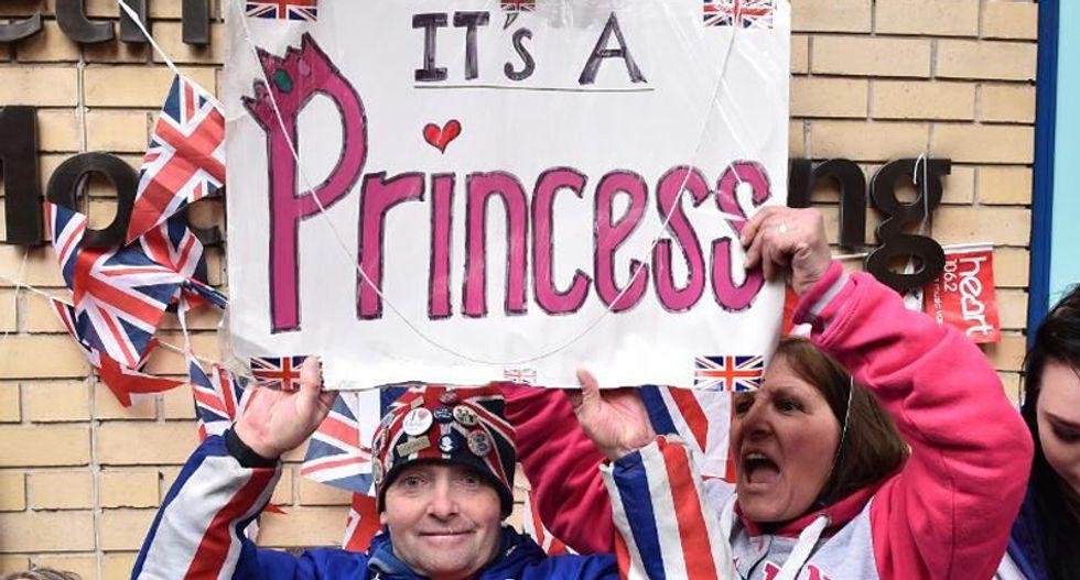 Britain celebrates birth of royal princess to Kate Middleton, Prince William