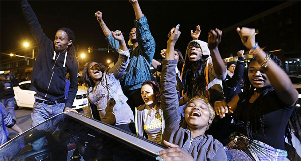 The rebellion in Baltimore is an uprising against austerity, claims top academic