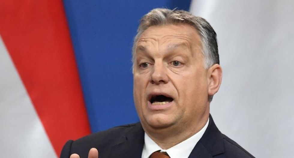 Trump invites Hungary's far-right leader to the White House