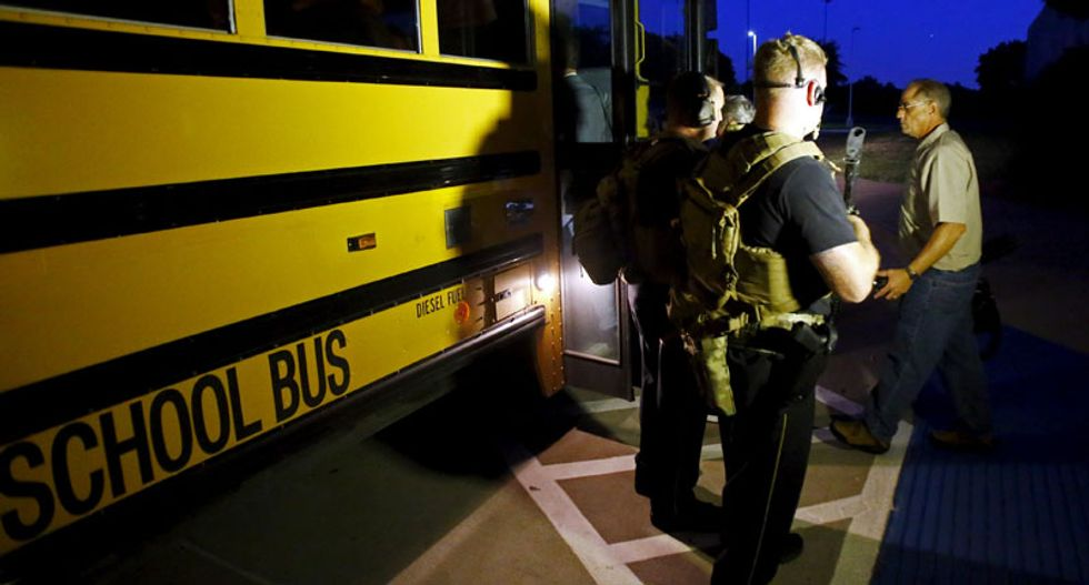 Gunman at Texas Mohammed cartoon event was target of terror investigation