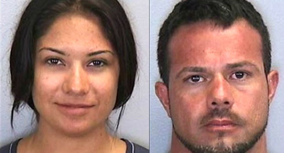 Couple faces 15 years behind bars after a grandma records them having sex on Florida beach