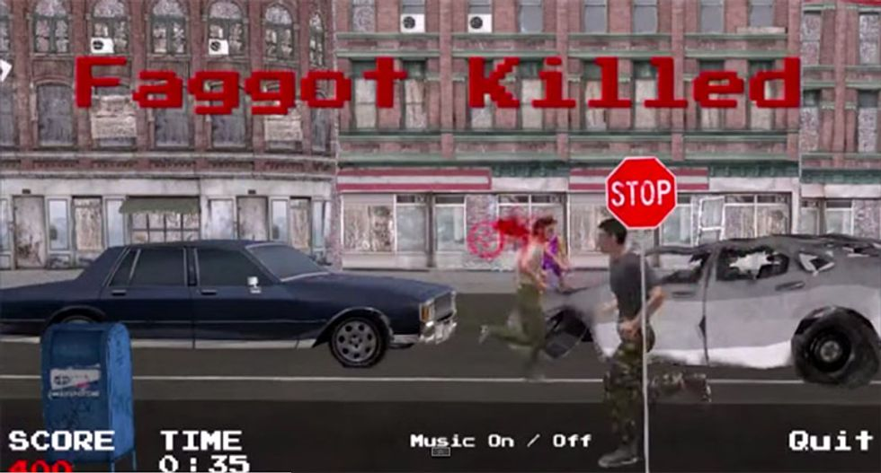 Christian developer behind 'Kill the F*ggot' game promises next release will be even more offensive