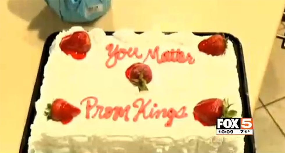 Las Vegas Walmart refuses to write 'gay' on a cake for teens going to prom
